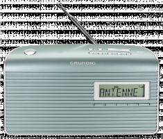 Grundig Music 7000 DAB+ Rádio, světle zelná/stříbrná