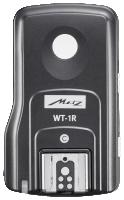 Metz WT-1 Receiver Sony wireless Trigger, Násada na přídavný blesk