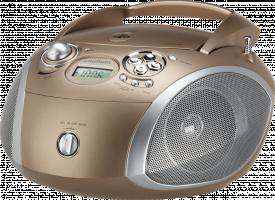 Grundig GRB 2000, Hnědá/stříbrná