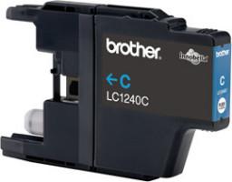 Brother inkoustová náplň LC-1240C/ Modrá/ 600 stran
