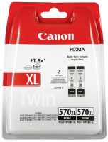 Canon cartridge PGI-570XL BK TWIN BL SEC
