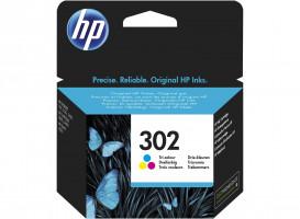 HP F6U65AE náplň č.302 barevná malá cca 165 stran (HP DeskJet 2130, 3639)