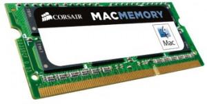 Corsair Mac Memory 8GB 1600MHz DDR3 CL11 SODIMM (pro Apple NTB)