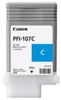 Inkoustová náplň PFI107C cyan | 130ml | iPF68X, 78X