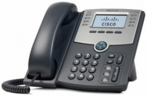 Cisco 8-Line IP Phone s Display, PoE and PC Port