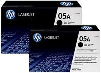 Toner HP 05A černá barva Dual Pack | LaserJet P2035