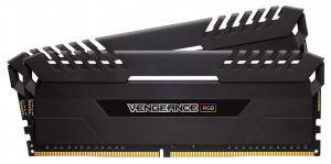 Corsair Vengeance RGB Series LED 2x 32GB, 4133MHz DDR4 CL19