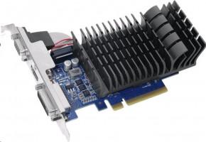 ASUS GeForce GT 730 (GK208) Silent V2, GT730-SL-2G-BRK-V2, 2GB DDR3, VGA, DVI, HDMI