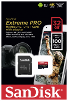 SanDisk microSDHC A1 100MB 32GB Extreme Pro