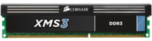 Corsair XMS3 4GB 1600MHz DDR3, CL11 (11-11-11-30) 1.5V, chladič