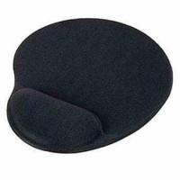 OEM Podložka pod myš ergonomická, gelová, pro praváky, černá