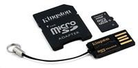 Kingston Mobility sada G2 32GB (micro SDHC karta 32GB Class 10+ USB čtečka+ ad.)