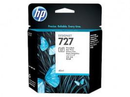 HP 727 Black Photo Ink Cart, 40 ml, B3P17A