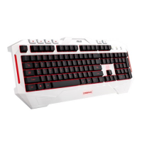 Gaming keyboard Asus Cerberus Arctic Multi-Color LED