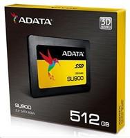 """Adata SU900 SSD SATA 6GB/s 2.5"""" 512GB, read/write 560/525MB/s, 3D MLC"""