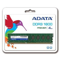 ADATA 4GB DDR3 1600MHz CL11 single tray