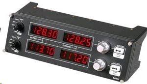 Logitech Flight Radio Panel - přístrojová deska leteckého simulátoru