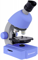 Bresser 40x-640x Mikroskop, modrá