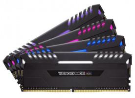 Corsair Vengeance RGB 32GB DDR4 3200MHz, (4 x 8 GB) (X4M4C3200C16)