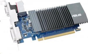 ASUS GeForce GT 710 Silent, GT710-SL-1GD5, 1GB GDDR5, VGA, DVI, HDMI