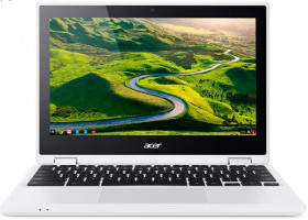 "Acer Chromebook R 11 (CB5-132T-C5RN) Celeron N3150/4 GB+N/eMMC 64GB+N/HD Graphics/11.6"" Multi-touch HD IPS/BT/Google Ch"
