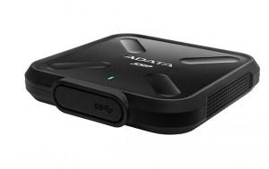 ADATA SD700 SSD USB 3.1 1TB, zápis/čtení 440/440 MB/s černý