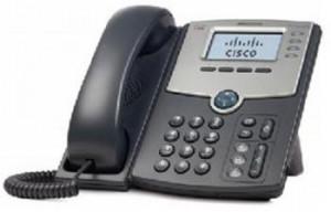 Cisco 4-Line IP Phone s Display, PoE and PC Port