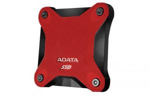 ADATA externí SSD SD600 3D NAND, 512GB, USB 3.1, červená