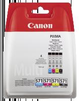 Canon cartridge CLI-571 C/M/Y/BK MULTI BL w/o SEC