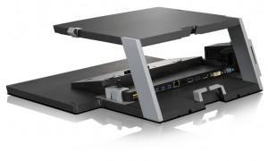 Lenovo Dual Platform notebook a mnonitor stojan