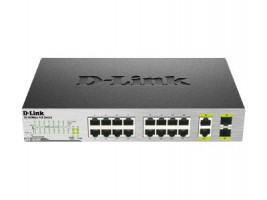D-Link DES-1018MP 16x100+2xGbit+2xSFP Smart