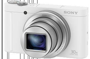 Sony DSC-WX500 bílá, 18, 2Mpix, 30xOZ, fullHD, WiFi