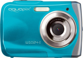 "Fotoaparát EasyPix W1024 Splash vodotěsný 3m, CMOS 10 Mpx, 2,4"" LCD, modrý"