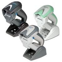 Datalogic Gryphon I GBT4430-HC, 2D, BT, multi-IF, sada (USB), bílo-zelená (skener, USB kabel, kolébka)