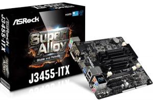ASROCK MB J3455-ITX s integrovaným intel CPU dual-core J3455 (2x DDR3 SO-DIMM, VGA +HDMI, PCI-E, 2xSATA3, 7.1, GLAN, mi