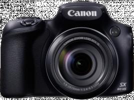 Canon PowerShot SX60 HS - Digitální fotoaparát - kompaktní - 16.1 Mpix - 65 x optický zoom - Wi-Fi,