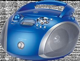 Grundig GRB 2000, Modrá/stříbrná
