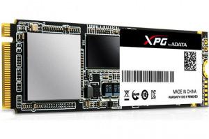 Adata SX7000 SSD 256GB, read/write 1370/820MBps, 3D NAND Flash