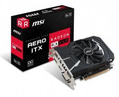 MSI Radeon RX 560 AERO ITX 4G OC, 4GB, DL-DVI-D/HDMI/DP/ATX/FAN