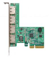 HighPoint RocketRAID 644L PCI-Express 2.0 x4 SATA III (6.0Gb/s) RAID Controller Card, řadič sata