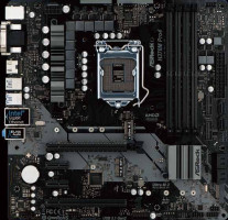 ASRock H370M PRO4, Základní deska, Intel H370, LGA1151, 4x DDR4 (max. 64GB), USB typ C, HDMI, DVI-D, VGA, základní deska