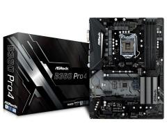 ASRock B360 PRO4, LGA 1151, Intel B360, 4x DDR4, ATX, základní deska