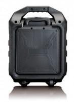 Lenco PA-90, Mono portable speaker, 60W, Černá barva, Přenosný reproduktor