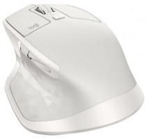 Logitech MX Master 2S bezdrátová myš, světle šedá