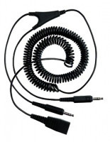 Jabra/GN Netcom PC kabel kroucený, 3,5 mm