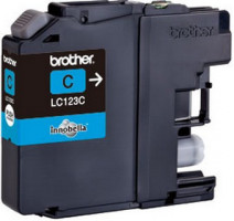 Brother LC-123C (inkoust cyan,600 str.)
