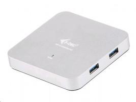 i-tec USB 3.0 Metal HUB 4 Port s napaječem