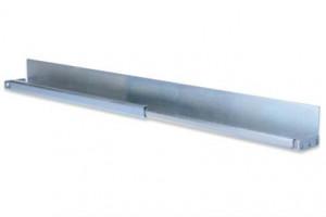 DIGITUS L support sliding rails, for server cabinets s 800 too 1000 mm depth, distance 500 to 750 mm depth