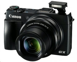 Canon PowerShot G1 X Mark II - Digitální fotoaparát - kompaktní - 12.8 Mpix - 5 x optický zoom - Wi