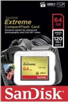 SanDisk Extreme CF 64GB 120MB/s UDMA7 SDCFXSB-064G-G46
